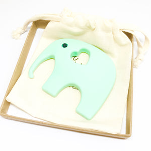 ELEPHANT Teething Toy | Turquoise