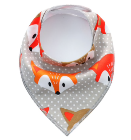 Dribble Bib | Fox head