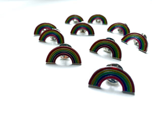 Rainbow Charity Pin Badge