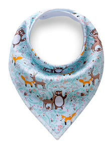 Dribble Bib | Woodland Animals