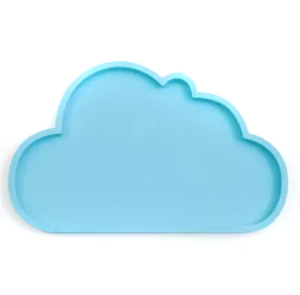 Silicone Cloud Plate | Sky