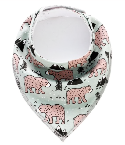 Dribble Bib | Mountain Bear