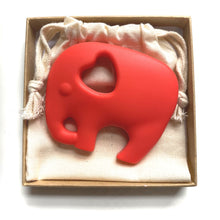 ELEPHANT TEETHER | Red
