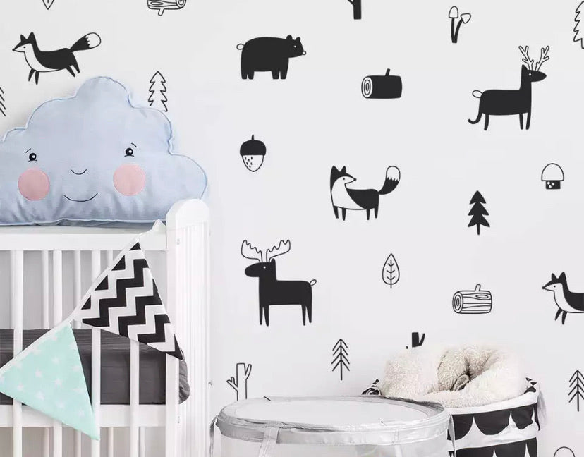 Wall Decal | Forest friends