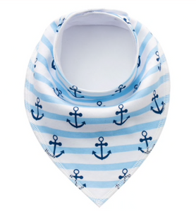 Dribble Bib | Stripe Anchors