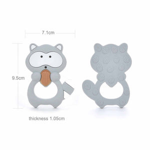 Raccoon Teether | Nude
