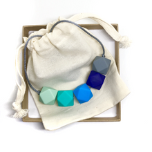 HARRIET Teething Necklace | Ocean