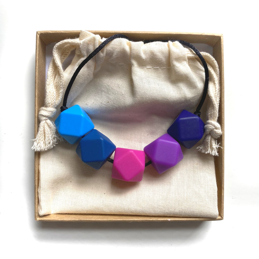 HARRIET Teething Necklace  | Pop