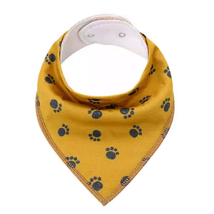 Dribble Bib | Paw Prints