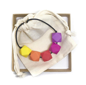 HARRIET Teething Necklace | Tutti Fruity