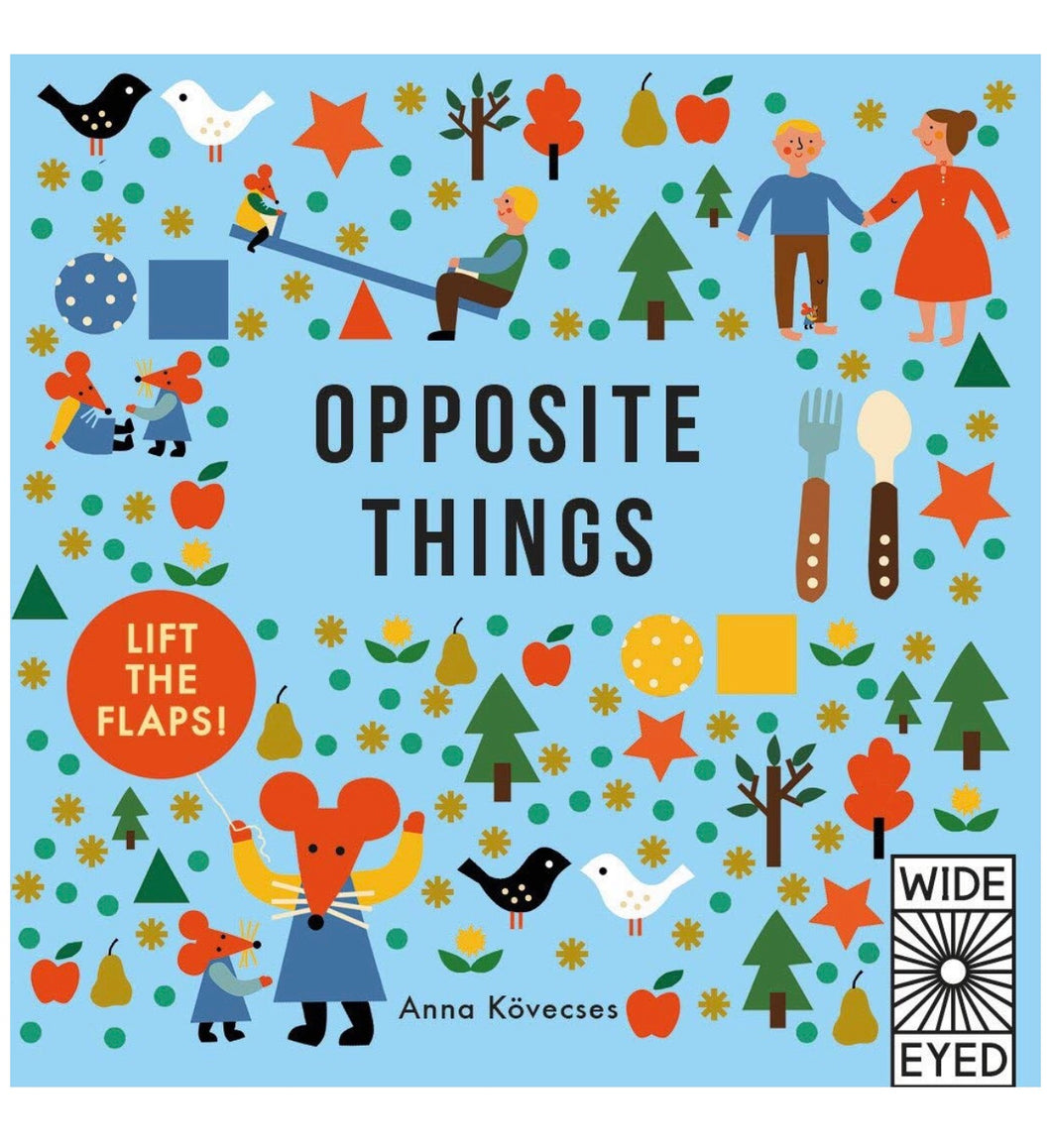 Opposite Things | Lift the flaps board book