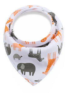 Dribble Bib | Jungle Animals