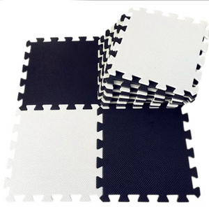 EVA Foam Tiles | Play Mat | Black + White