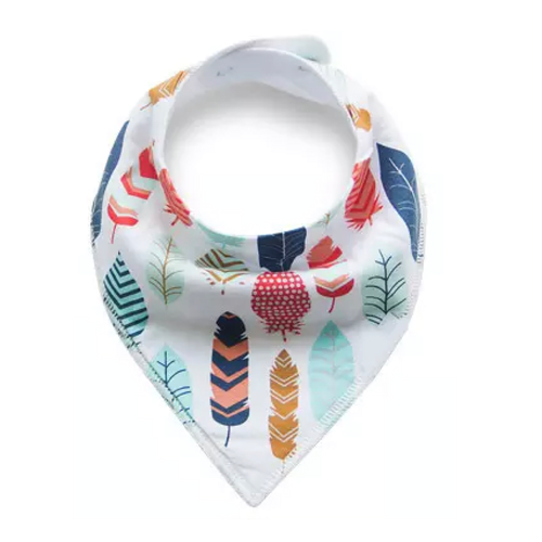 Dribble Bib | Feathers
