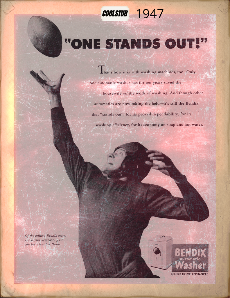 Best Vintage Football Ads and Retro Sports Advertisements