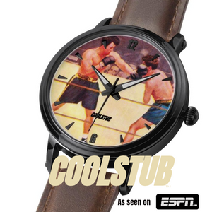 Punch First Vintage Boxing Watch and Other Great Vintage Sports Art Gifts