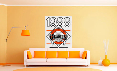 Most Unique Father's Day Gifts 2020: 1988 Giants Poster