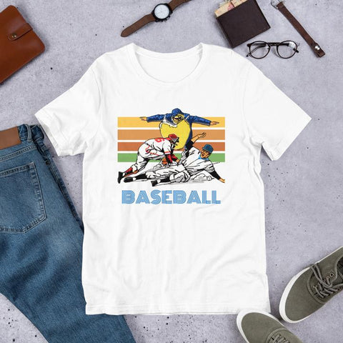 vintage baseball tees, cool retro sports t-shirts