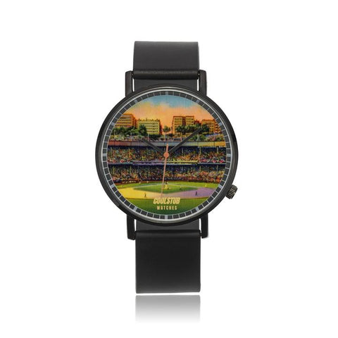 vintage baseball stadium watch, vintage baseball gifts