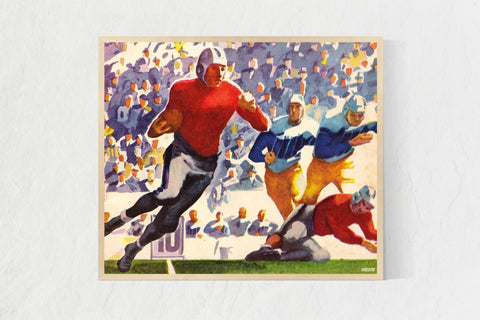 best sports art, cool sports art for mancaves and offices