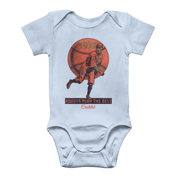 Coolstub™ 1937 Always Play The Best Vintage Classic Baby Onesie Bodysuit
