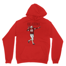 Load image into Gallery viewer, 1950's Oklahoma Football Quarterback Classic Adult Hoodie