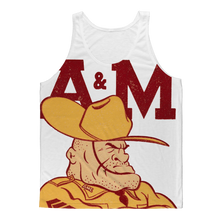 Load image into Gallery viewer, 1950's Texas A&M Ol' Sarge Classic Sublimation Adult Tank Top