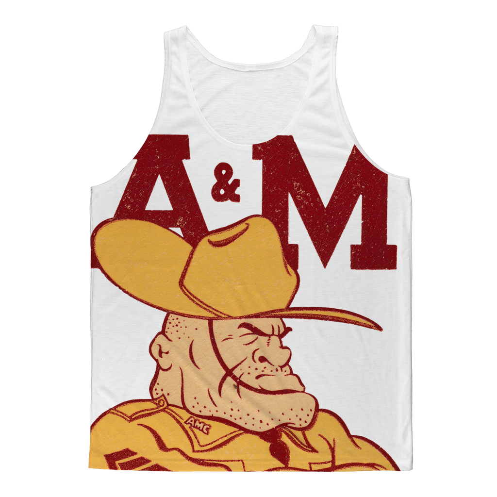 1950's Texas A&M Ol' Sarge Classic Sublimation Adult Tank Top