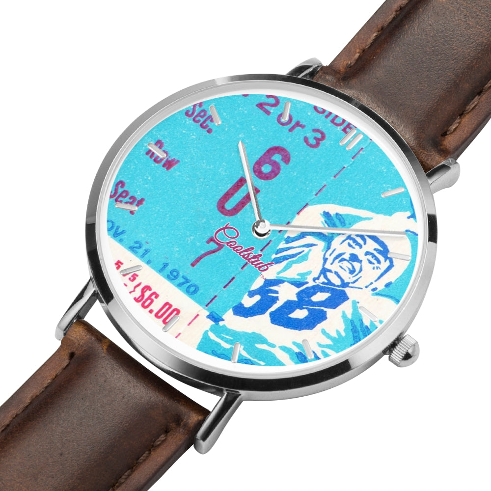 Coolstub™ 1970 Vintage Football Ticket Watch