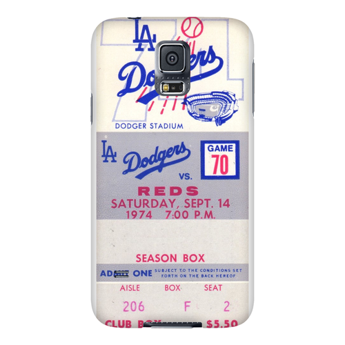 1974 LA Dodgers Ticket Phone Case