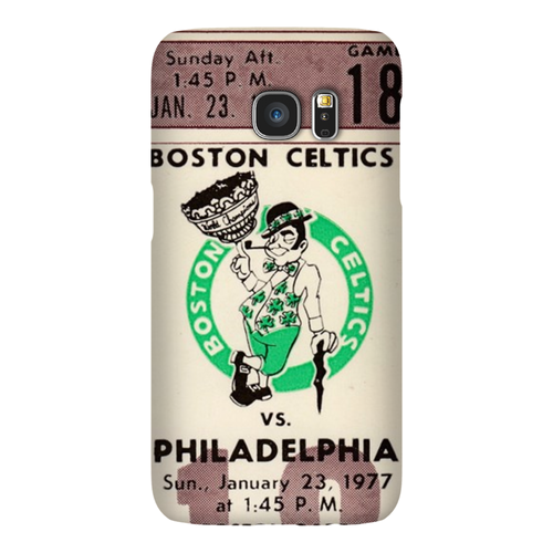 1977 Boston Celtics Ticket Phone Case