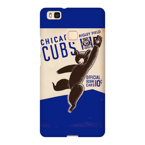 1939 Cubs Scorecard Phone Case