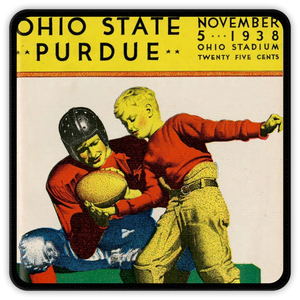1938 Ohio State vs. Purdue Coasters