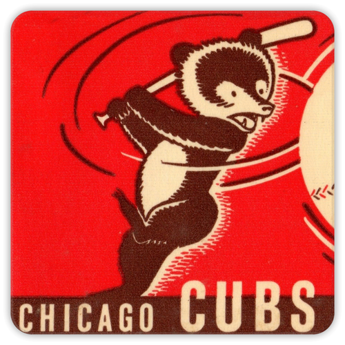 1941 Chicago Cubs Coasters