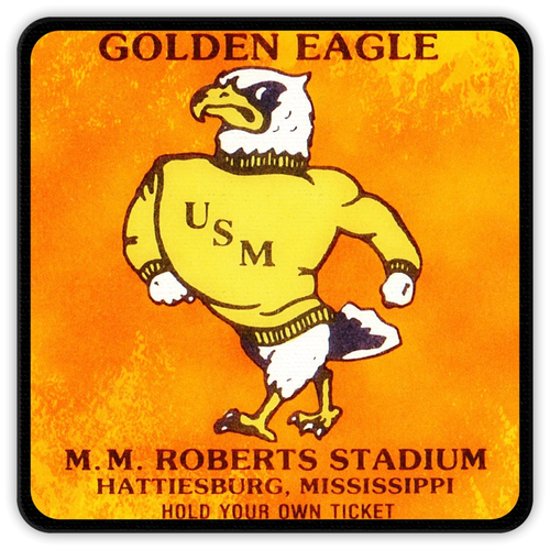 1980's University of Southern Mississippi Ticket Coasters