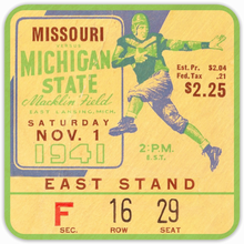 Load image into Gallery viewer, 1941 Michigan State vs. Missouri