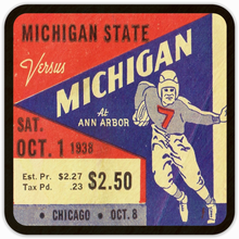 Load image into Gallery viewer, 1938 Michigan State vs. Michigan