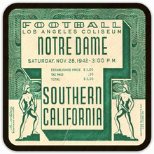 Load image into Gallery viewer, 1942 USC vs. Notre Dame