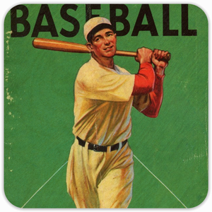 '34 Baseball Birch Wood Coasters