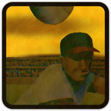 "Load image into Gallery viewer, '63 ""Sunset Pitch"" Wood Coasters"