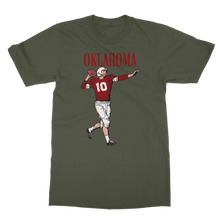 Load image into Gallery viewer, 1950's Oklahoma Football Quarterback Classic Adult T-Shirt