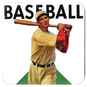Coolstub™ 1934 Baseball Art Coasters