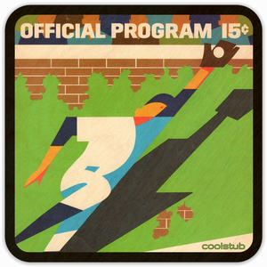 Coolstub™ 1968 Baseball Scorecard Art Coasters