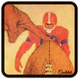 Coolstub™ 1940's Field Goal Birch Wood Coasters