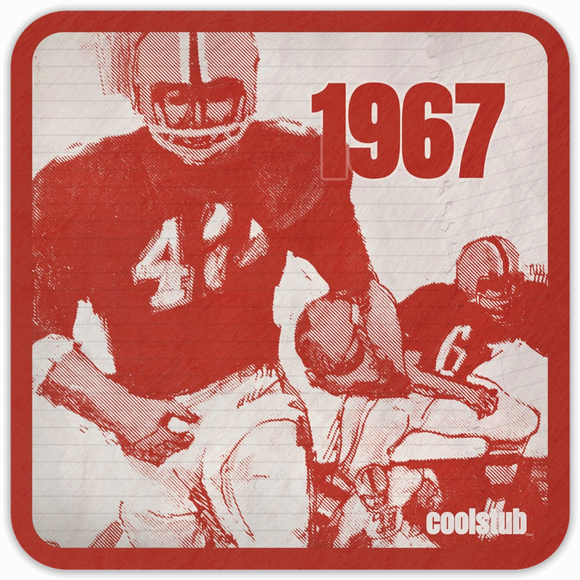 Coolstub™ 1967 Notebook Scribble Coasters