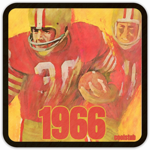 Coolstub™ 1966 Football Art Coasters