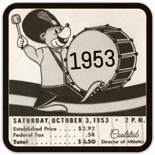 Saturday, October 3, 1953: Coolstub™ 1953 Birth Year Gift Idea