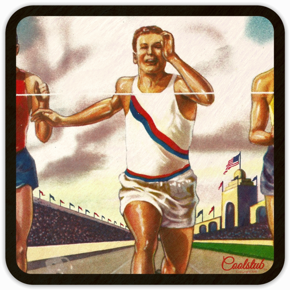 Coolstub™ Vintage Track and Field Coasters