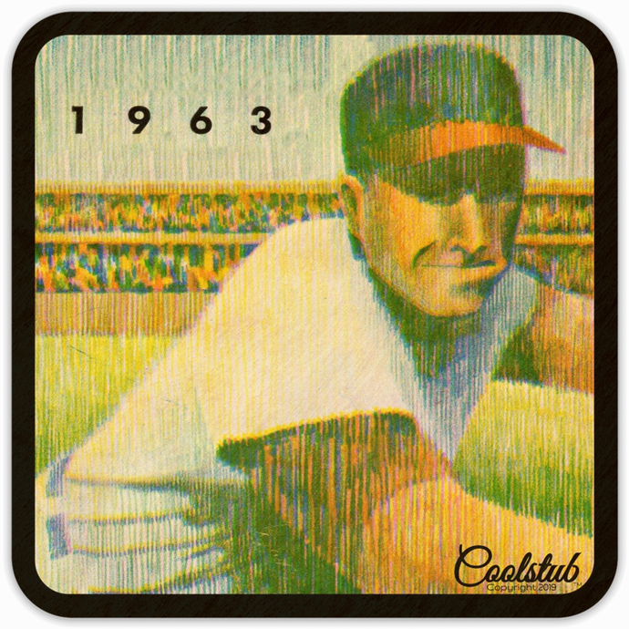 Unique Sports Gifts: 1963 Baseball Coasters by Coolstub™