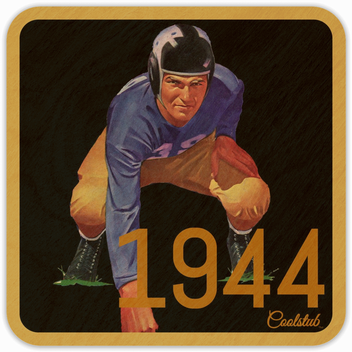 Best Father's Day Gifts 2019: 1944 Football Lineman Coasters by Coolstub™